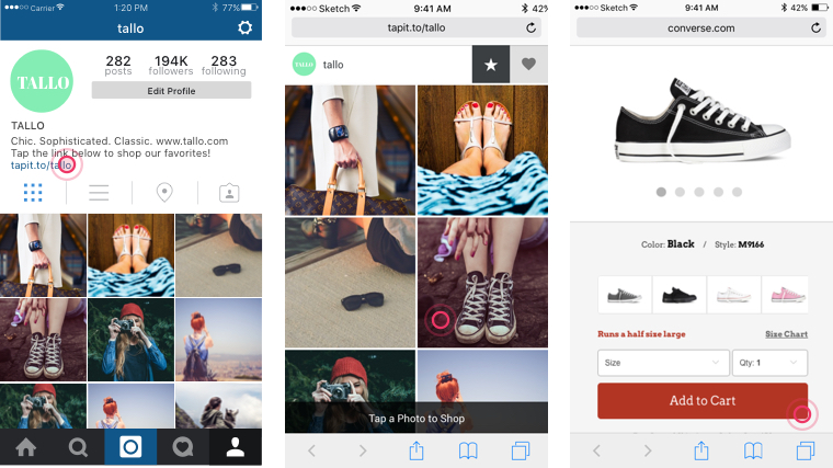 Make your Instagram shoppable with Viraltag.